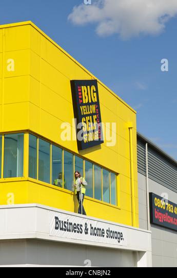 big yellow self storage stock photos big yellow self. Black Bedroom Furniture Sets. Home Design Ideas
