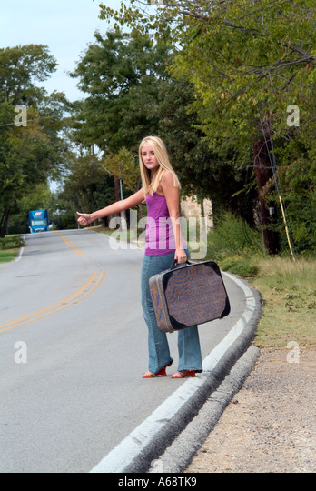 Hitchhiker teen girls that necessary
