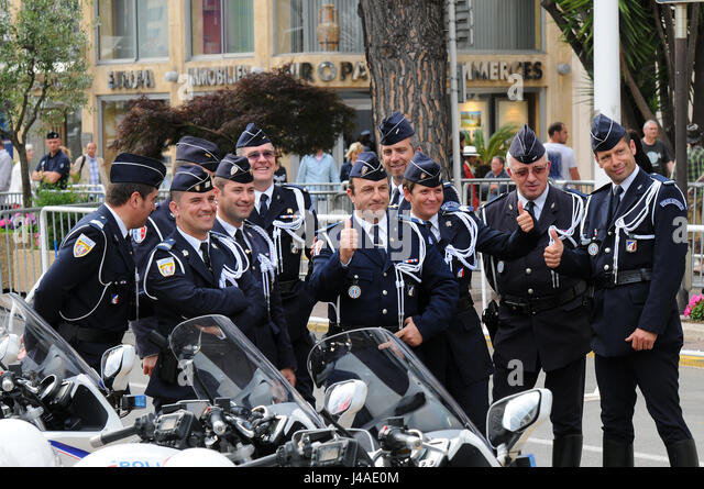 Official photographers stock photos official for Police cannes