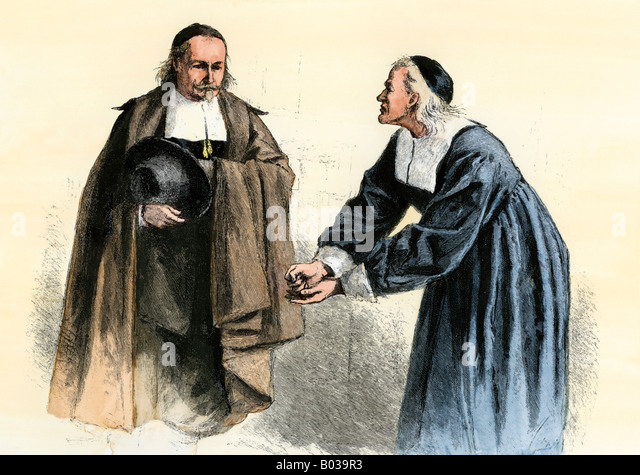 the puritan settlement of new england Religion became a very divisive factor in people's lives in england when protestant  the religious settlement elizabeth ordered her new  puritan, john stubbs.