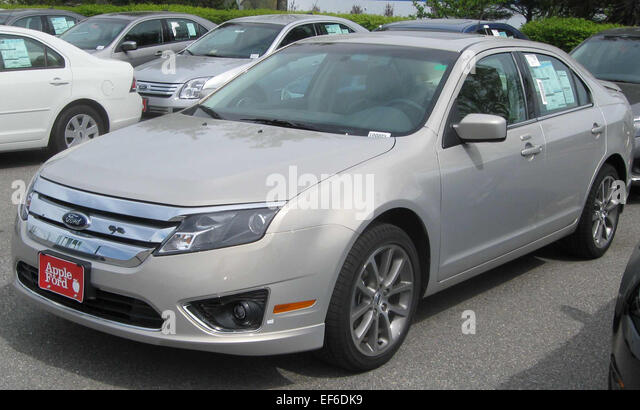 2010 ford fusion sel 1 stock image