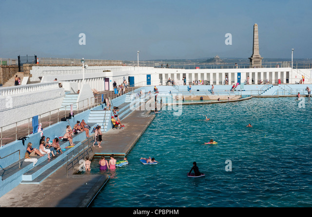 Lido In Penzance Stock Photos Lido In Penzance Stock Images Alamy