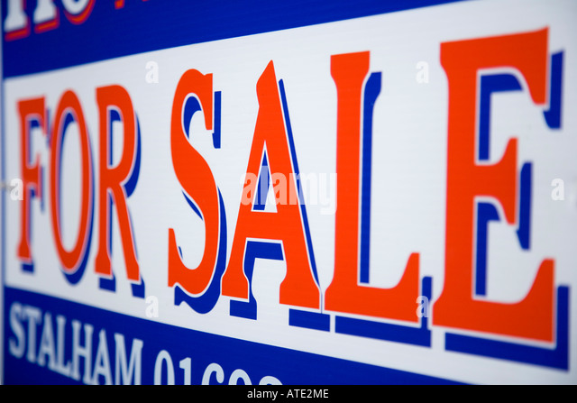 how to build a house for sale sign