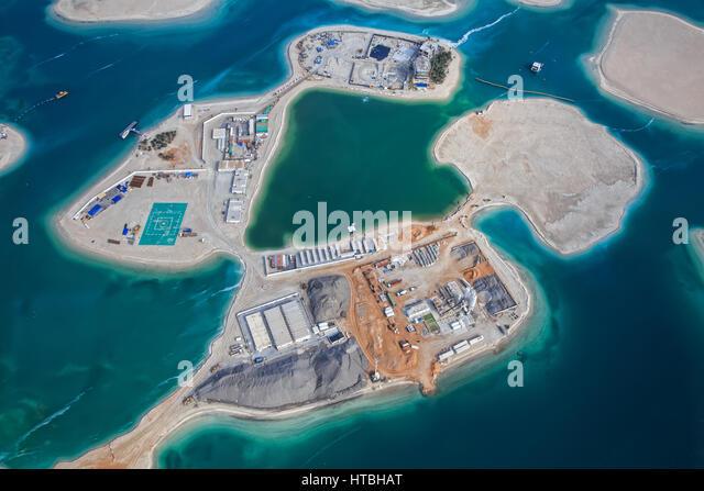 The world islands dubai stock photos the world islands dubai dubaiuae march 9 2017 the world islands stock image gumiabroncs Image collections