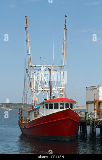 Dock in provincetown stock photos dock in provincetown for Mass commercial fishing