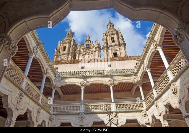 Salamanca House Of Shells Stock Photos & Salamanca House ...