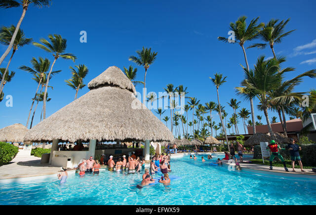 Swim Up Bar Caribbean Stock Photos Swim Up Bar Caribbean Stock Images Alamy
