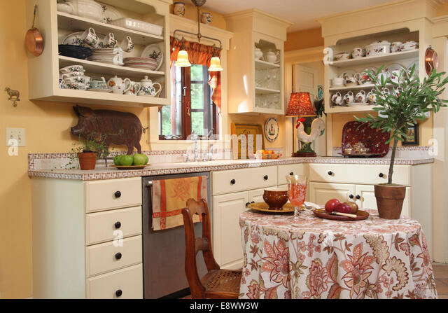 Country Kitchens Stock Photos Country Kitchens Stock