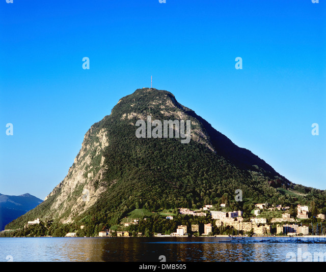 monte san salvatore lake lugano stock photos monte san salvatore lake lugano stock images alamy. Black Bedroom Furniture Sets. Home Design Ideas