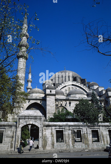 architectural form suleymaniye mosque The suleymaniye mosque is one of the most monumental example of the  it  stands out with the elegant forms and rich interior decorations.