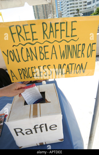 how to hold a raffle in florida
