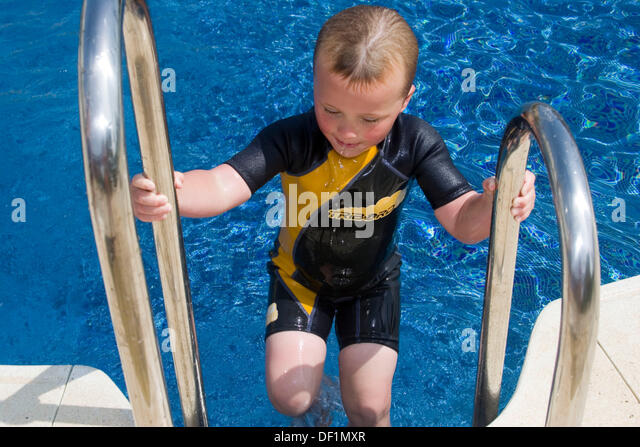 Boy Wearing Wetsuit Stock Photos Boy Wearing Wetsuit Stock Images Alamy