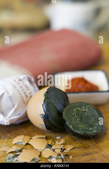how to cook preserved eggs