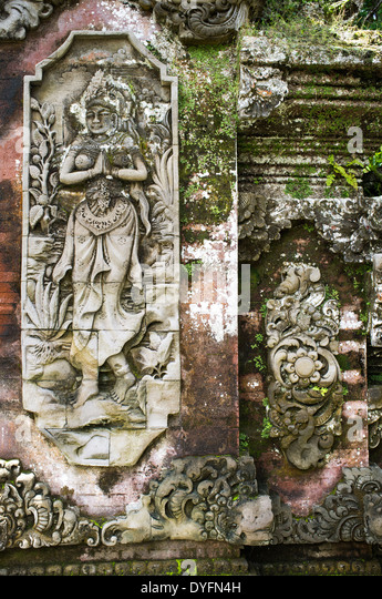 Hindu god stone sculptures stock photos