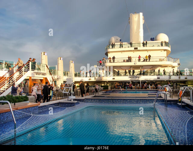 Cruise Ship Passengers Deck Chair Stock Photos Amp Cruise