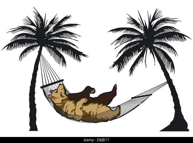 free clipart hammock cartoon - photo #43