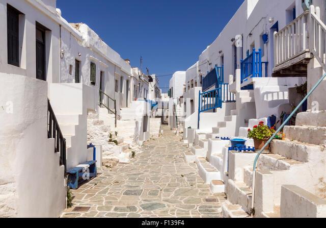 Kastro Folegandros Greece Stock Photos & Kastro ...