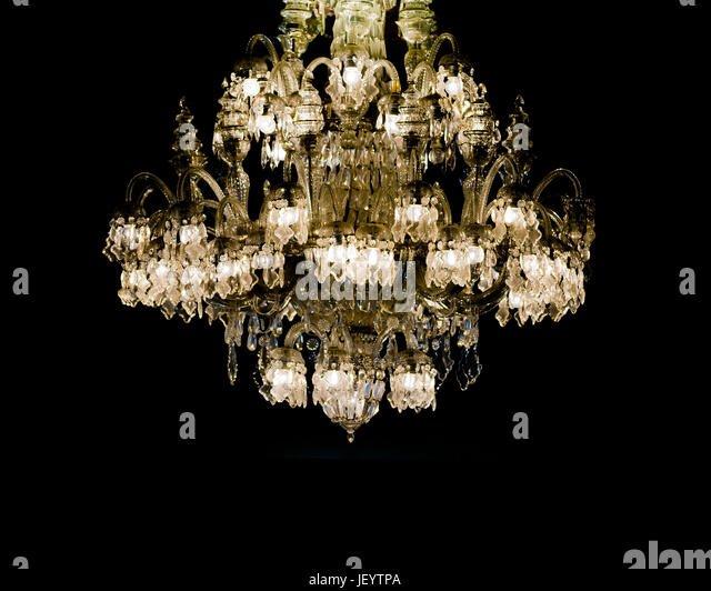Ornate chandelier stock photos ornate chandelier stock images alamy ornate chandelier stock image aloadofball Image collections