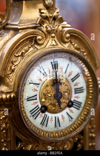 Antique Clock Face Vintage Style Texture Stock Photo 133425158 ...
