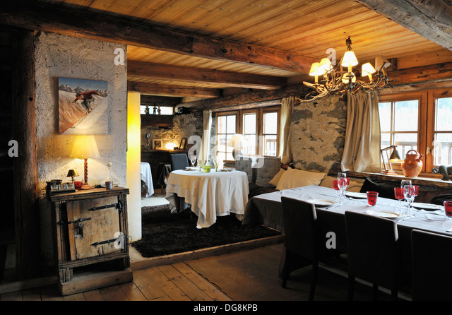 Chez Merie Le Miroir Sainte Foy Of Dit Stock Photos Dit Stock Images Alamy