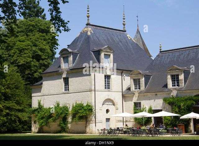 Azay le rideau castle gardens stock photos azay le - Restaurant l aigle d or azay le rideau ...