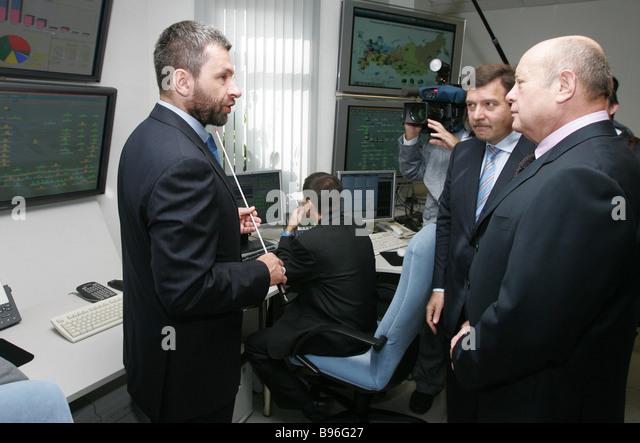 Prime Minister Mikhail Fradkov Center Stock Photos & Prime ...