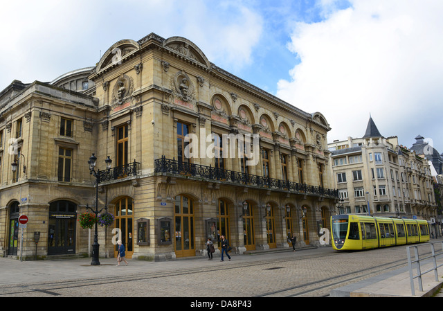 french tram stock photos french tram stock images alamy. Black Bedroom Furniture Sets. Home Design Ideas