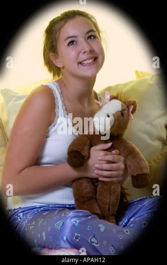 Stuffed teen tight