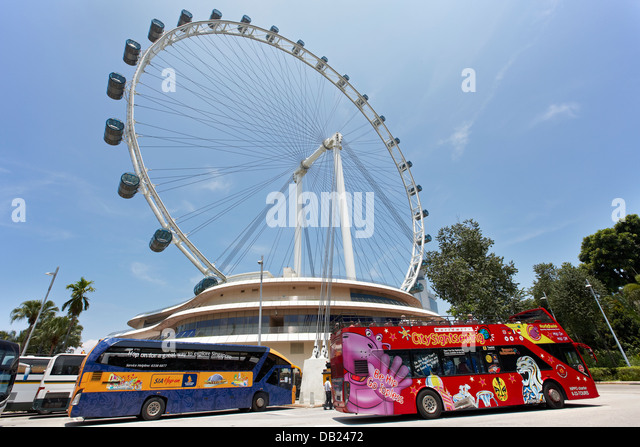 Singapore City Tour Bus Stock Photos & Singapore City Tour ...