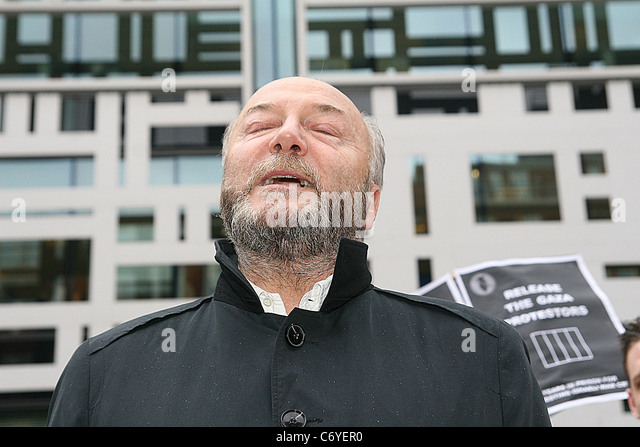George Galloway Stop The War Deliver A Petition To Home Office In London On Tuesday