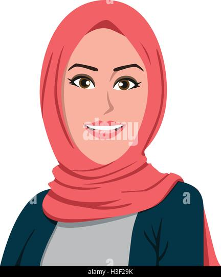 hijab stock vector images alamy