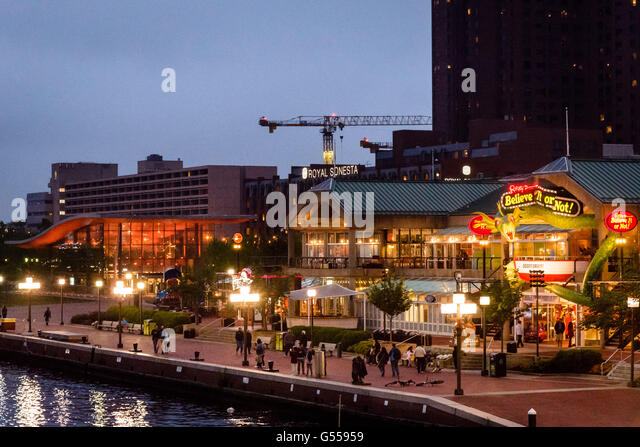 Harborplace is a festival marketplace in Baltimore, located on the inner harbor, that opened in as a centerpiece of the revival of downtown.
