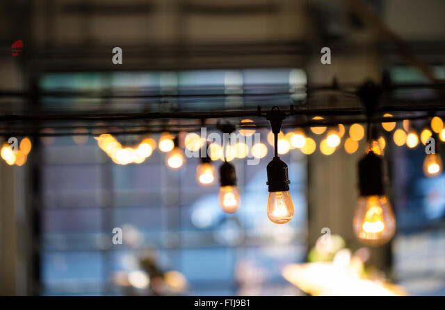 String Lights Stock Photos & String Lights Stock Images - Alamy