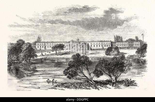 places royal military academy sandhurst united kingdom where stay
