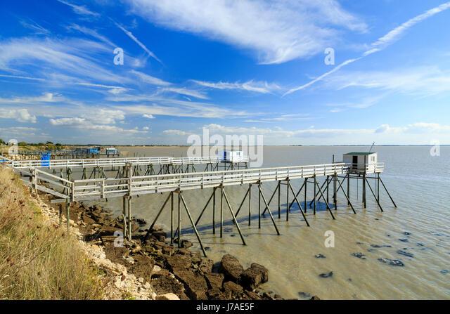 Pilotis stock photos pilotis stock images alamy - Hotel port des barques charente maritime ...