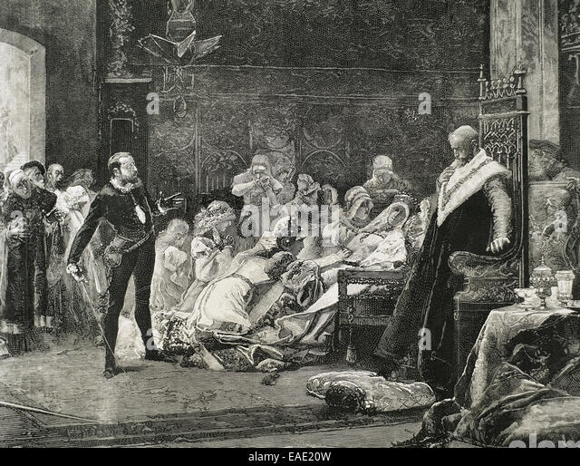a look at hamlets treatment of gertrude in the play hamlet by william shakespeare William shakespeare - hamlet (hamlet) a little shakespeare's most famous play hamlet telling gertrude she is weak for remarrying.