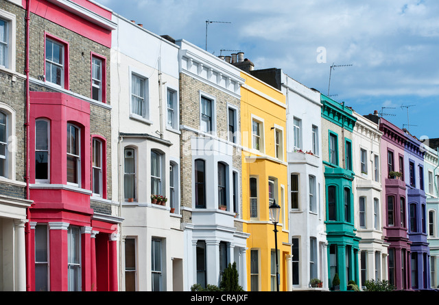 Notting Hill Houses Stock Photos Notting Hill Houses