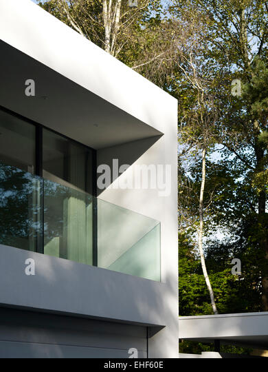 Woodland barrier stock photos woodland barrier stock for Balcony barrier