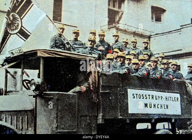 the munich putsh 1923 In november 1923, hitler tried to take advantage of the crisis facing the weimar government by instigating a revolution in munich it seemed like the perfect.