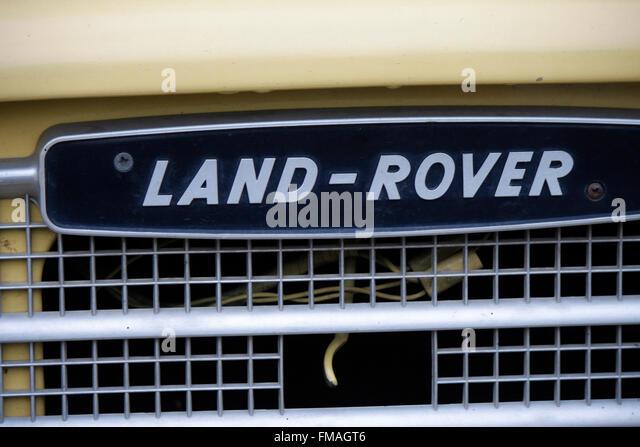 the land rover emblem stock photos the land rover emblem. Black Bedroom Furniture Sets. Home Design Ideas