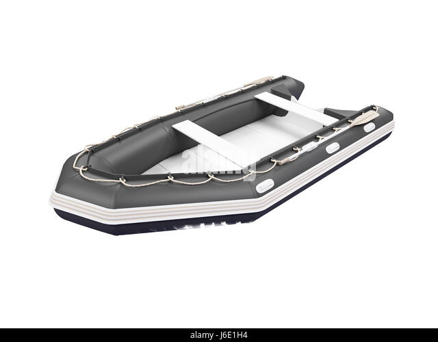 isolated boat white rowing boat sailing boat sailboat watercraft sport sports - Stock Image