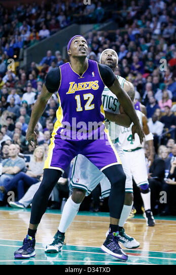 Boston Celtics Stock Photos Images Alamy Mass Los Angeles Lakers
