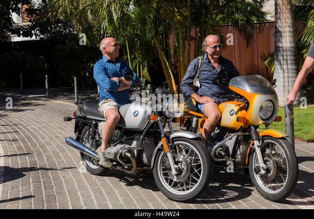 bmw classic bike stock photos & bmw classic bike stock images - alamy