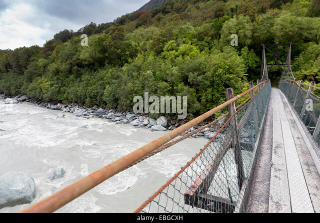 Wire Rope Suspension Bridges Stock Photos & Wire Rope Suspension ...
