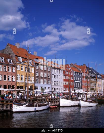 Denmark, Sjaelland Island, Copenhagen City, Kongens Nytorv ...