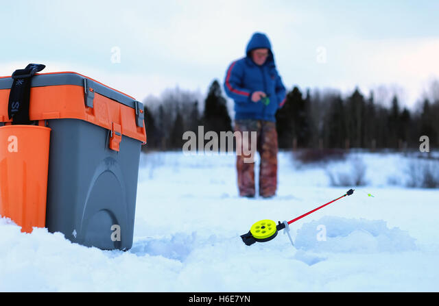 Frozen scale stock photos frozen scale stock images alamy for Frozen fishing pole