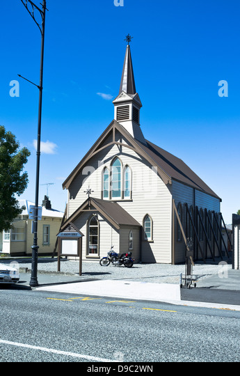 Greytown New Zealand  city pictures gallery : GREYTOWN NEW ZEALAND New Zealand St Andrews Union church Stock Image