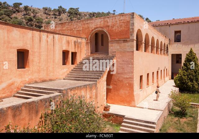 Agia Triada Monastery Chania Stock Photos & Agia Triada ...