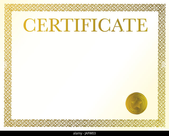 Vector Official Certificate Template Photos Vector – Official Certificate Template