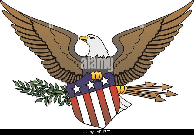 American eagle symbol seal